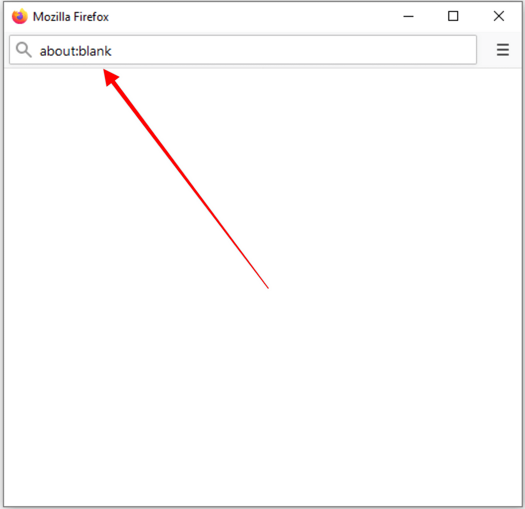 about:blank Meaning and How To Remove It