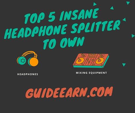 Headphone Splitter