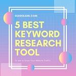 5 Best keyword research tool